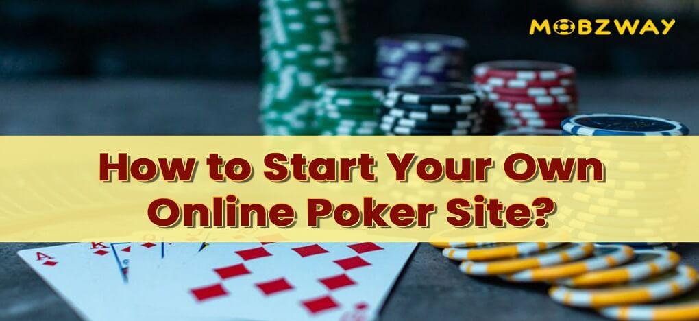 How to start my own casino poker games shreveport casinos el dorado hotel